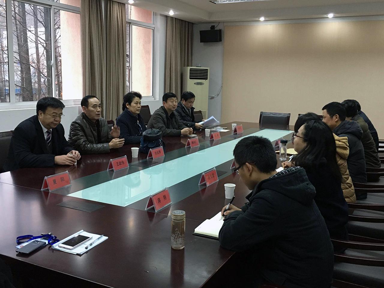 考察浙江省建设技师学院